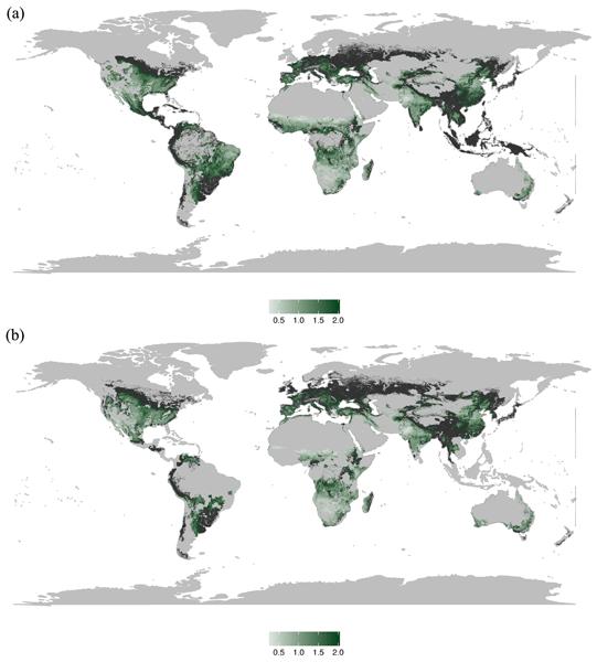 SOIL - Global meta-analysis of the relationship between soil