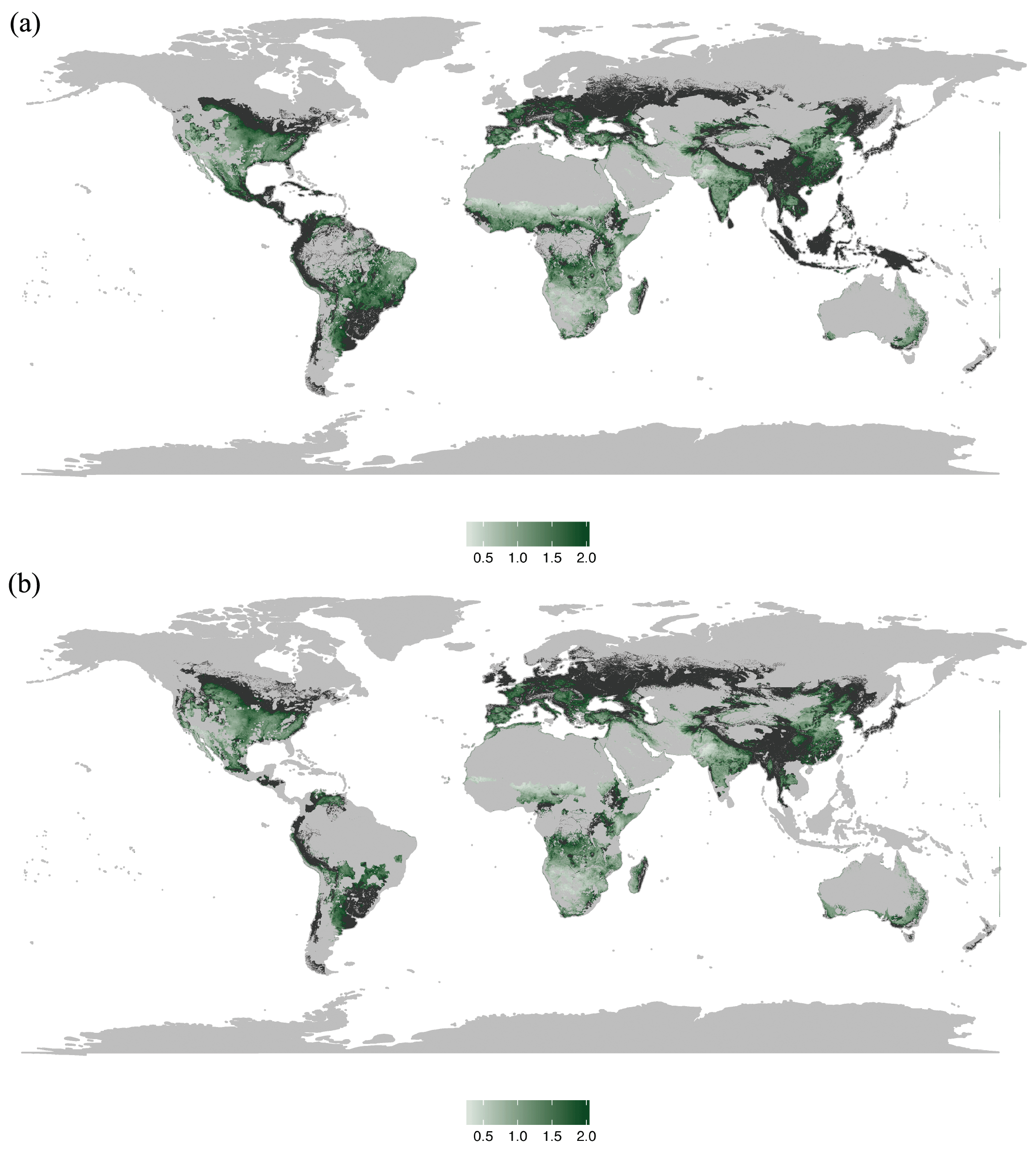 SOIL - Global meta-analysis of the relationship between soil